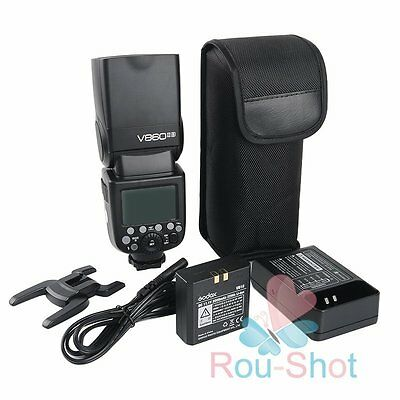 GODOX V860IIS TTL 2.4GHz Flash Li-ion Battery Speedlite HSS 1/8000s For SONY