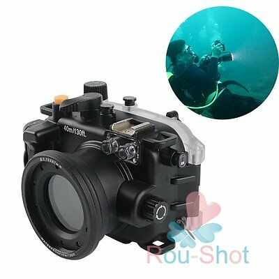 Diving Depth 40M 130Ft Meikon Waterproof Camera Housing Case Cover for Canon G9X