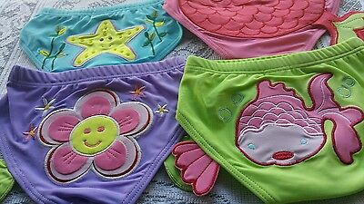 STAR FISH / daisy/ fish/ mermaid Girls swimmers pants size small/medium/large