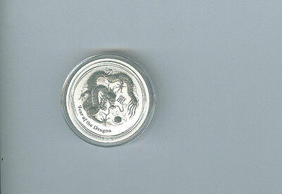 2012 Australia 50 cent Year Of The Dragon- Great Collectible Coins!