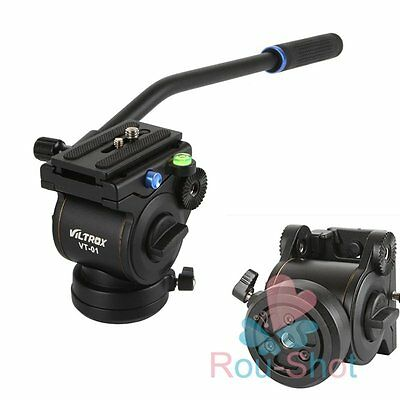 Viltrox VT-01 Fluid Drag Head Hydraulic Damping Ball Head For Camera SLR Tripod