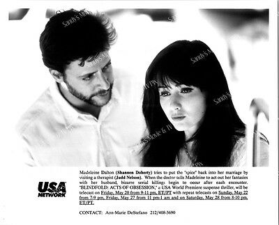 SHANNEN DOHERTY, JUDD NELSON ORIGINAL TV Photo BLINDFOLD ACTS OF OBSESSION