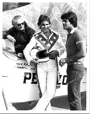 ERIK ESTRADA, ROBBIE KNIEVEL Terrific ORIGINAL TV Photo CHiPs