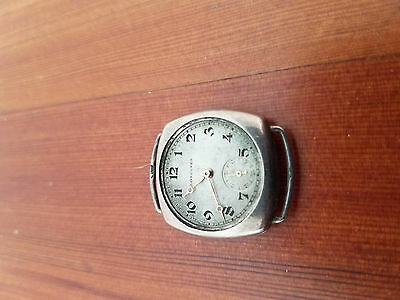 Antique Longines Silver watch