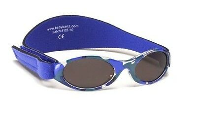Baby Banz Adventure Banz Infant sunglasses - Blue Hawaii for ages 2 Months - 2 Y