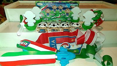 Tifosi, Football, Fussball, Italy, Ferrero, Kinder, compl. set with all Bpz