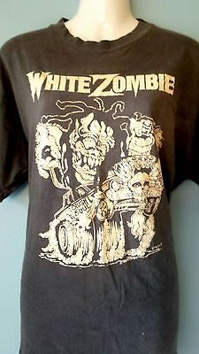 Authentic White Zombie 1987 First In Store tour t -shirt
