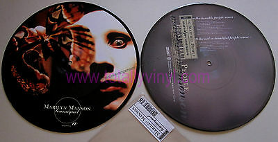 "Marilyn Manson - Tourniquet1.996 - Nothing Reznor Limited 10"" Picture Disc New"