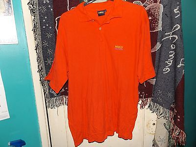 Nobilis Golf Club Polo Shirt - Size Xxl - Used - Orange