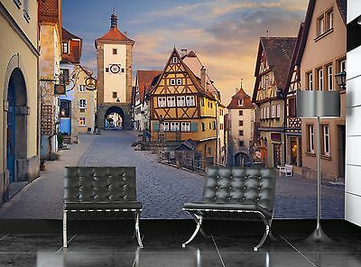 Rothenburg  Wall Mural Photo Wallpaper GIANT WALL DECOR Paper Poster Free Paste