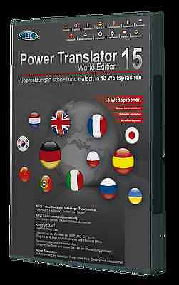 Power Translator 15 World Edition 13 Sprachen PowerTranslator + DriverGenius 12