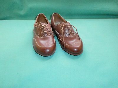 Vintage, Art Deco genuine leather children shoes/1920/30s/Italy