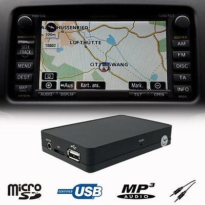 Car Stereo USB SD AUX MP3 WMA CD Changer Adapter TOYOTA Camry Previa RAV4 Prius
