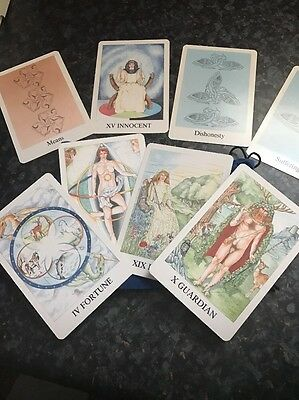 Tarot Cards In Very Good Condition With Bag (not Sure What Brand They Are)