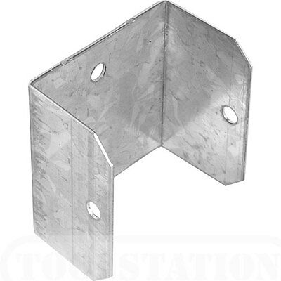 10 GALVANISED Fence Panel Clips / Fixings 46mm Wooden Fencing Panel