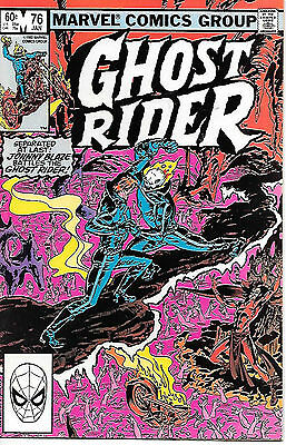 Ghost Rider #76 (Marvel 1983; vf/nm)