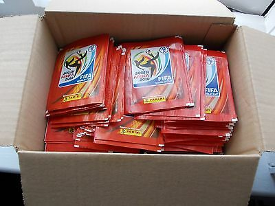 football stickers panini world cup 2010 x 400 unopened packets