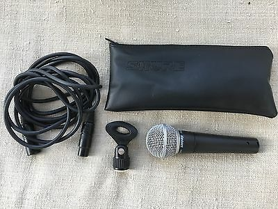 Shure SM58 Vocal Microphone, Excellent Condition