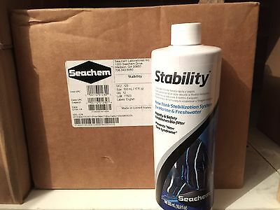 Seachem Stability 500ml / Maintains, Healthy Bacteria In Aquarium Filter & Tank