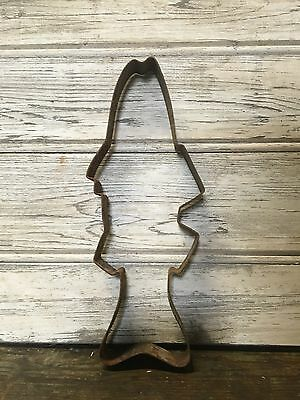 Antique Cookie Cutter / Mold , French Decorative Large
