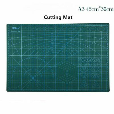 PVC A3 5Ply Double Sided Eco Friendly Self Healing Durable Cutting Mat 45x30CM