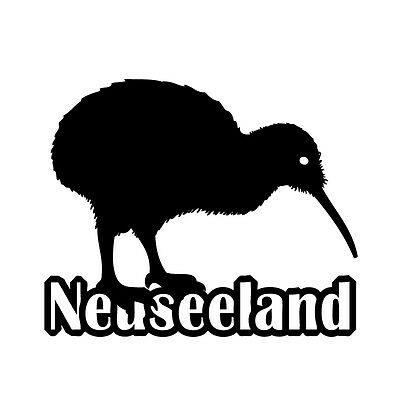 neuseeland kiwi aufkleber auto folie kfz new zealand vogel sticker schild eur 5 90 picclick de. Black Bedroom Furniture Sets. Home Design Ideas