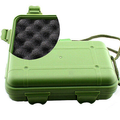 Shockproof Waterproof Outdoor Airtight Survival Container Storage Carry Case Box