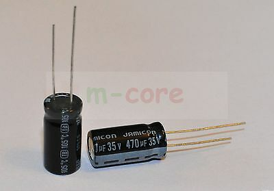 High Quality Electrolytic Capacitors - Range of 470uF - 3300uF - choice of - NEW