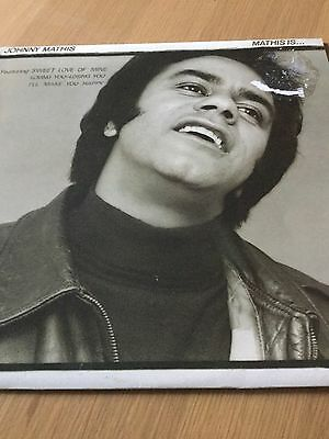 Johnny Mathis - Mathis Is ... - Vinyl Lp Record - Good Condition