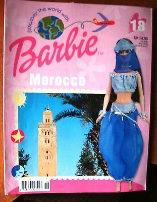 Discover The World With Barbie # 18  ~ Morocco  ~  Magazine 2002