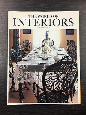 The World of Interiors Magazine - Complete, 12 issues 1999