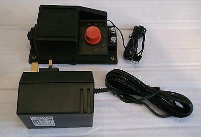 New Hornby R.965 Power Controller & C912 Transformer - With Power Clip
