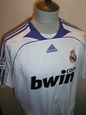 Real Madrid Football Shirt Size Large