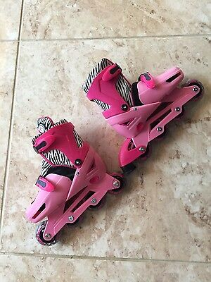 In-Line Roller Skates Girls Size 13 to 3
