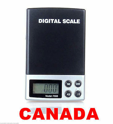 Digital Portable 200g x 0.01 Balance Weight Pocket Scale