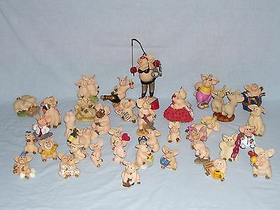 "36 Figures From The ""piggin"" Collection"