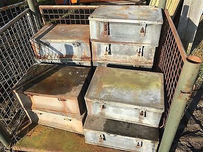 Ammo Boxes WW2 2 Pdr, Ex Army, Ex Military, Reenactment,