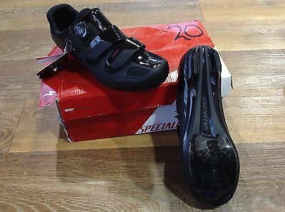 Specialized COMP Road SHOE Black Size EU 42 / UK 8 Shoes Cycle Bike Bicycle