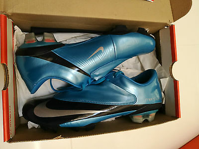 Rare!! New Nike Mercurial Vapor V FG Blue Azure UK Size 9