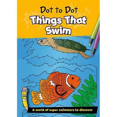 Dot to Dot Book for Adults and Children - Things That Swim (up to 900 dots) B083
