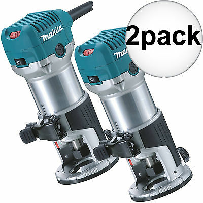 2pk 1-1/4 HP Variable Speed Compact Router Makita RT0701C New
