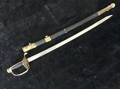 Antique 19th Century  After Napoleon III French Navy Officer Sword  Naval  Sabre