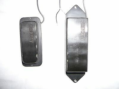 Alembic replacement pickup set for Rickenbacker bass guitar