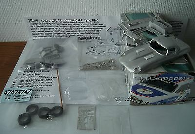 Jaguar E FHC Lightweight COOMBS TEAM 1/43 Kit montaggio RARE Limited SMTS