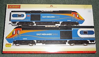 Hornby OO Gauge R2948 EAST MIDLAND TRAINS CLASS 43 HST NEW BOXED