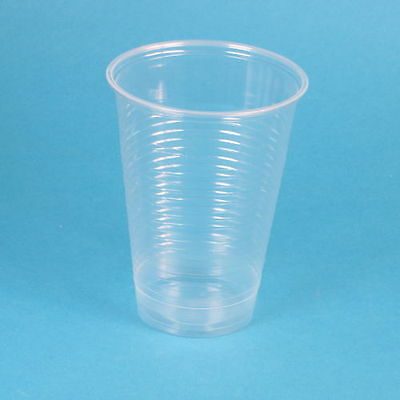 1600 Trinkbecher Ausschankbecher Bierbecher 0,4l 400ml PP klar transparent