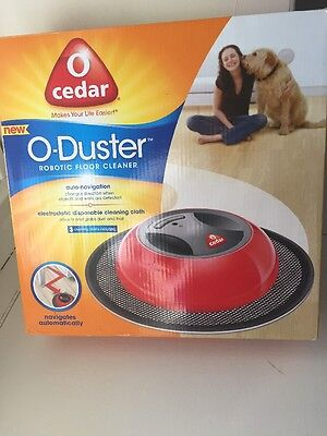 O Cedar O-Duster Robotic Floor Cleaner! Auto Navigation
