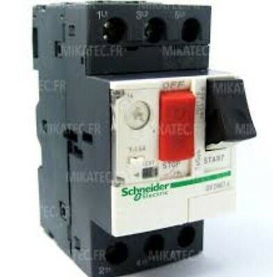 Schneider Electric MCB Motor Circuit Breaker GV2ME10 TeSys 034311 4-6.3A