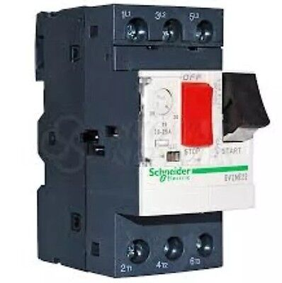 Schneider Electric GV2ME22 20A - 25A Motor Circuit Breaker TeSys 034325