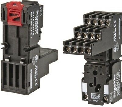 Schneider Electric RXZE2S114M Simple Socket 4CO Connector Zelio Relay RXM4